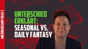 Fantasy Fussball Anfängercamp Seasonal vs Daily Fantasy Sports
