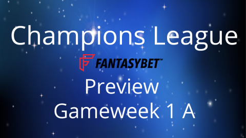 Preview: CL Match Day 1 on FantasyBet