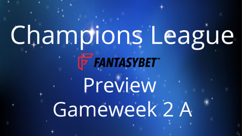 Preview: CL Match Day 2 on FantasyBet