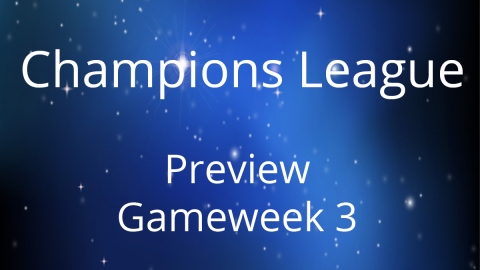 Preview: Champions League Day 3