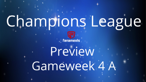 Preview: Champions League Match Day 4A on Fanaments