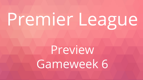 Preview: EPL Gameweek 6