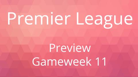 Preview: EPL Gameweek 11