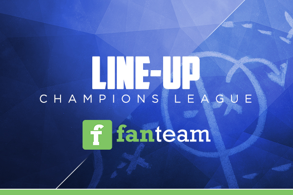 Fantasy football Line-up Champions League Fanteam