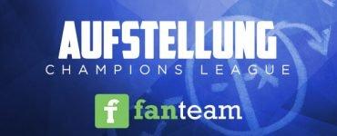 Daily Fantasy Fußball - Aufstellung Champions League für Fantasy Fußball Turniere auf Fanteam