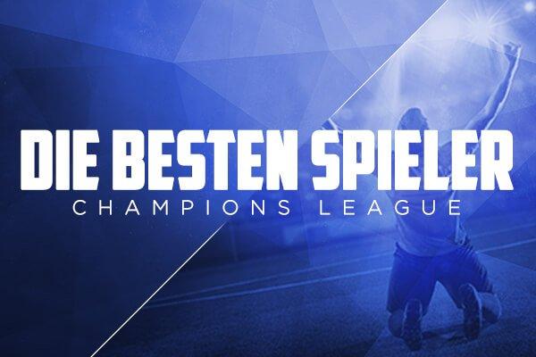 Fantasy Fußball - Die besten Spieler Champions League