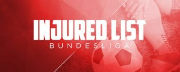 injured list bundesliga