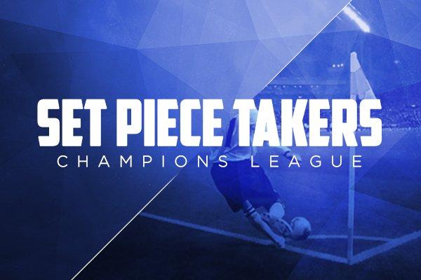 set piece takers champions league