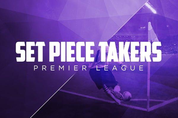 set piece takers premier league