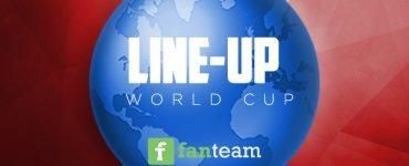 Fantasy Football World Cup on FanTeam Lineups