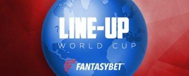 Fantasy Football World Cup Line-ups