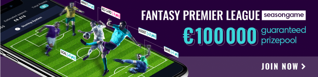 Fantasy Premier League Season Game Fanteam 100k GTD