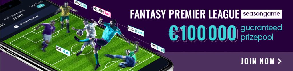 Fantasy Premier League Season Game Fanteam 100k GTD