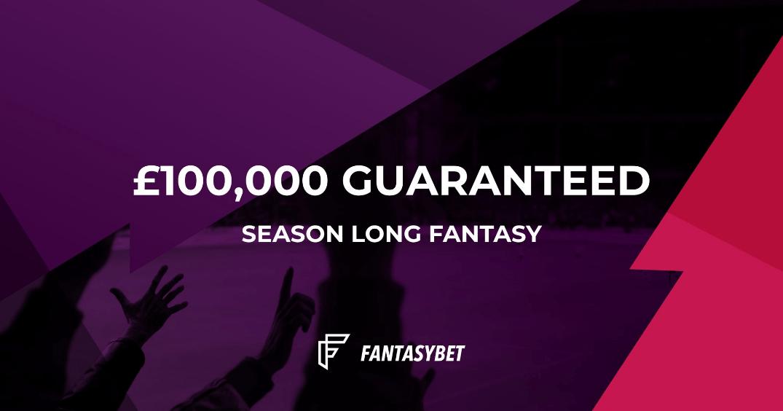 Premier League Fantasy 100k GTD Season long Fantasybet xl.png