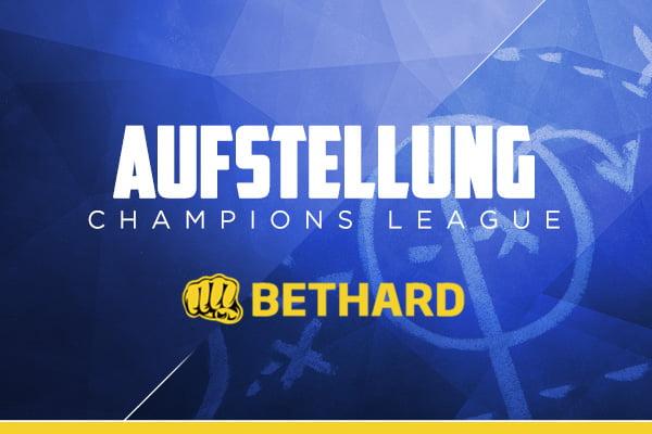 Daily Fantasy Fußball Aufstellungen Champions League