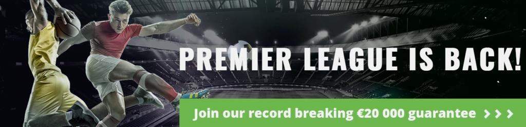 Fanteam Join our record breaking 20k gtd premier league tournament