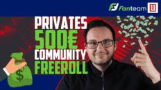 Fanteam Freeroll 11Heroes