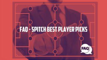 SPITCH Best Player Picks FAQ