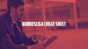11Heroes Bundesliga Cheat Sheet