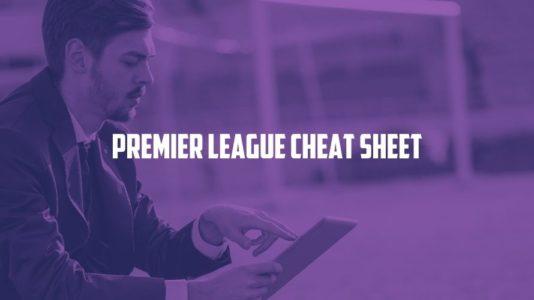 11Heroes Premier League Cheat Sheet